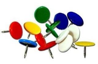 2 - Chinches De Colores X 50