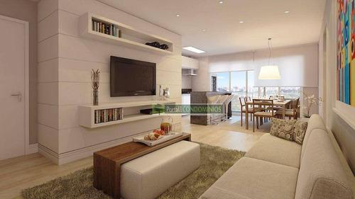 Apartamento Com 2 Dormitórios À Venda, 69 M² Por R$ 530.000,00 - Cristo Rei - Curitiba/pr - Ap0640