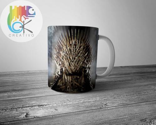 Taza Clasica Game Of Thrones Trono De Hierro - Ok Creativo