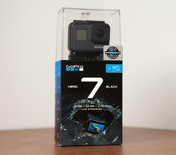 Câmera Digital Gopro Hero 7 Black +1 Bateria +kit Acessórios
