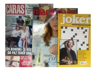 Revista Caras Promoción + Marie Claire+ Regalo Nº 1987