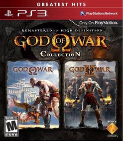 Jogo God Of War Collection Playstation 3 Ps3 Mídia Física