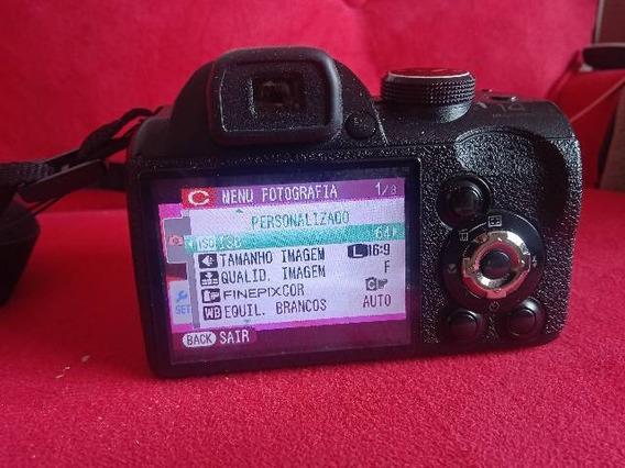 Câmera Finepix Fujifilm .zoom 30x Com Carregador E Pilhas