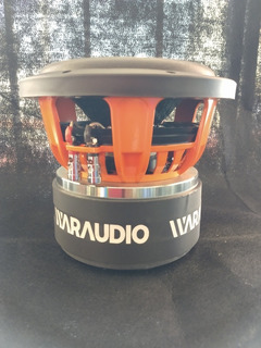 Subwofer Waraudio 8 Pulgadas 1000 Rms Doble Bobina De 4 Ohms