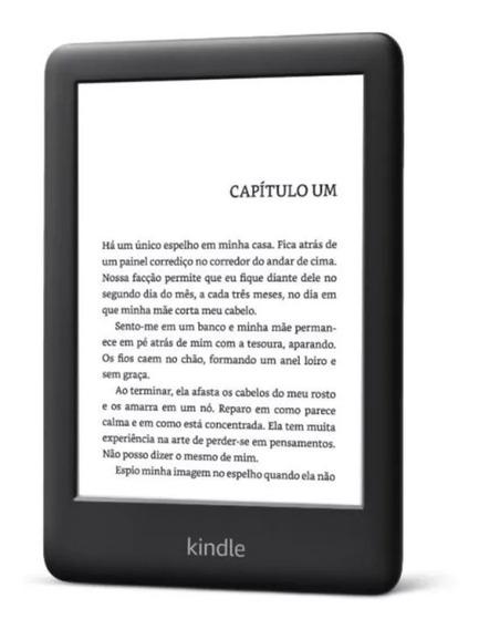 Kindle 10ª Geração 2019 C Iluminação + Capa Pto / Fte Grátis