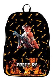 Mochila Free Fire Jogo Battle Royale Mobile Celular