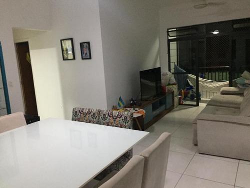 Apartamento Em Gonzaga, Santos/sp De 124m² 2 Quartos À Venda Por R$ 555.000,00 - Ap405280