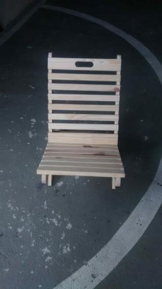 Cadeira De Praia, Jardim, Piscina Em Madeira