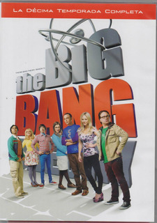 The Big Bang Theory Teoria Big Bang Temporada 10 Diez Dvd