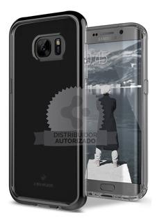 Funda Samsung S7 Edge Caseology Skyfall Black Anti Impacto
