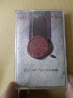 Whitesnake-slip Of The Tongue- Cassette