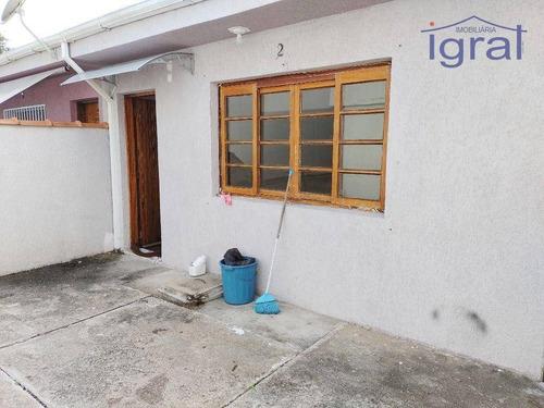 Casa Térrea 2 Dormitórios, Sala, Cozinha, Banheiro, Área De Serviço, 1 Vaga, Próximo Ao Jabaquara. - Ca1093