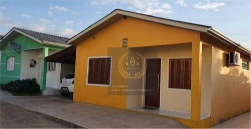 Casa Com 2 Dormitórios À Venda, 90 M² Por R$ 174.000,00 - Jardim Itapema - Viamão/rs - Ca0713