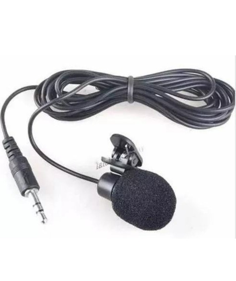 Microfone De Lapela P2 Stereo Profissional Youtubers