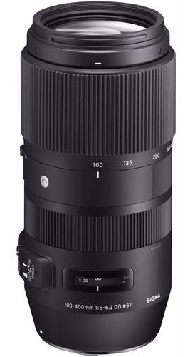 Lente Sigma 100-400mm F/5-6.3 Dgoshsm Contemporary P/canon