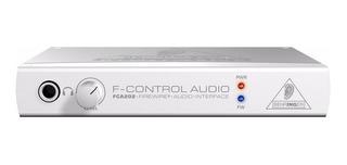 Fca202 Behringer Não É Audiobox Usb Fast Track Scarlett 2i2