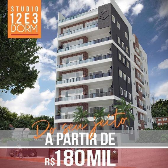 Apartamento Com 1 Dormitório À Venda, 37 M² Por R$ 198.000 - Atibaia Jardim - Atibaia/sp - Ap0073