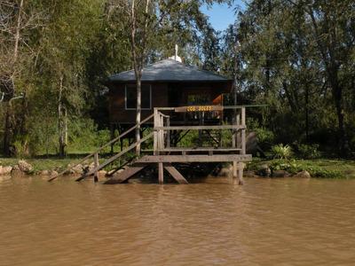 Cabaña En Isla Del Delta De Tigre.
