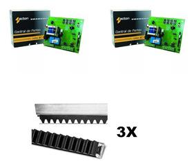 Kit 2 Central Sensor Hall + 3 Cremalheiras 1,5 Metros