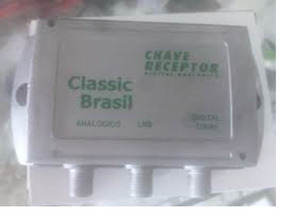 Kit 100x Divisor Chave Eletrônica Receptor Analógica Digital