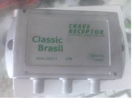 Chave Eletronica Recptor Digital Analogica Classic Brasil