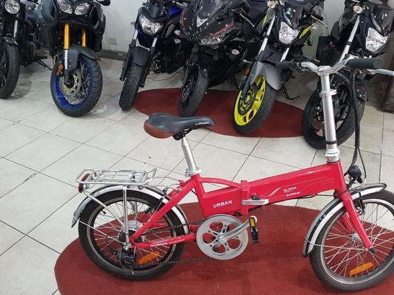 Bici/moto Electrica Plegable Entrega Inmediata Ciclofox
