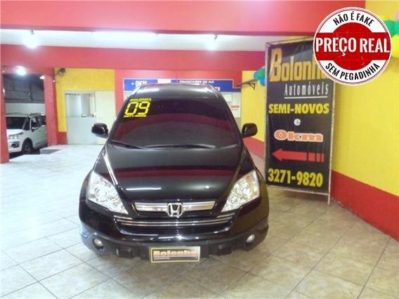 Honda Crv 2.0 Exl 4x4 16v Gasolina 4p Automático Blindada