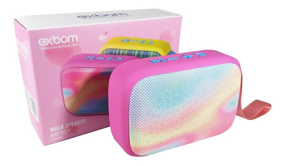 Caixa De Som Bluetooth 5w (rms) Portátil Atende Telefone