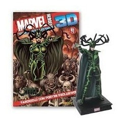 Figura Marvel Heroes 3d # 37 Hela - Autores Varios