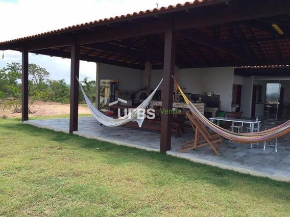 Chácara Com 5 Dormitórios À Venda, 20000 M² Por R$ 750.000 - Zona Rural - Niquelândia/go - Ch0054