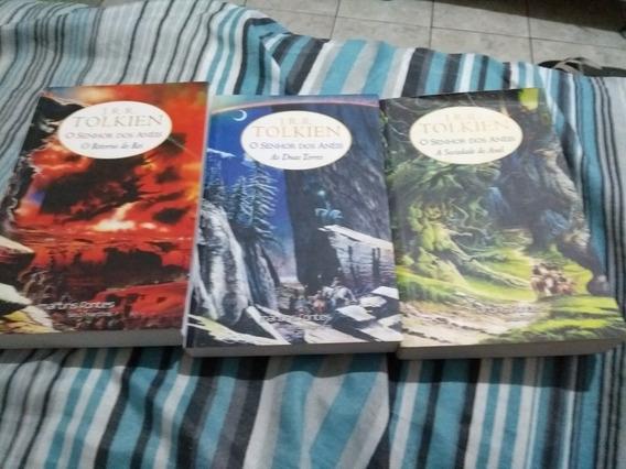 Triologia De Livros Senhor Dos Anéis