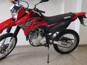 Yamaha Xtz 250 Rojo , Blanco Y Negro