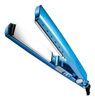 Prancha de cabelo MQ Professional Hair Styling Titanium azul 110V/220V (Bivolt)