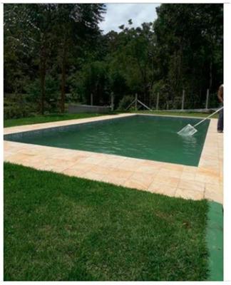 Pequena Chácara Formada Casa Nova Com Piscina Cod: 3855