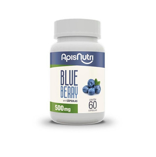 Blue Berry Apisnutri 60 Caps 500 Mg Kit Com 2