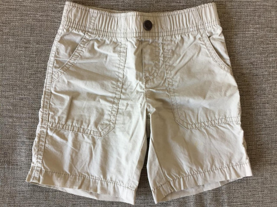 Short Niño Gymboree Talle 3t Color Khaki Beige Importado Usa