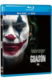 Joker (guasón) Blu Ray + Dvd Película Nuevo Joaquin Phoenix