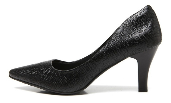 Sapato Scarpin Feminino Mooncity Facinelli 62704 Promoção