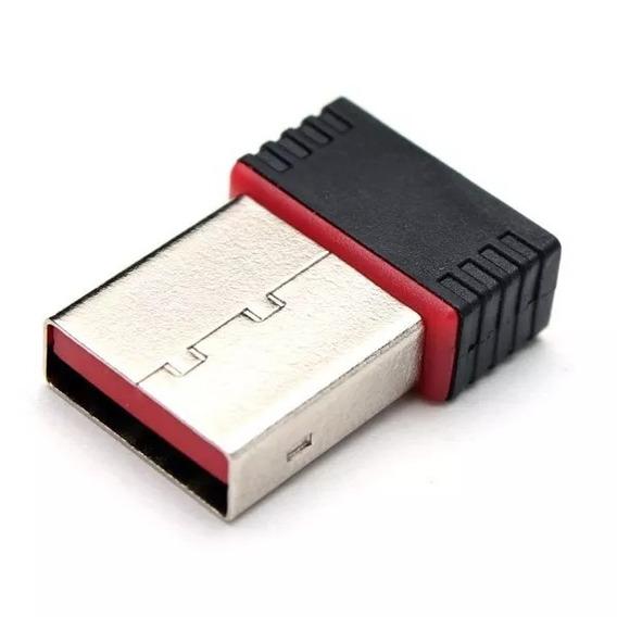 Kit 10 Mini Adaptador Receptor Wireless Usb Mini Nano