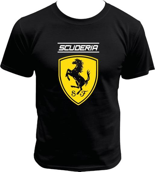 Playera De Scuderia Ferrari