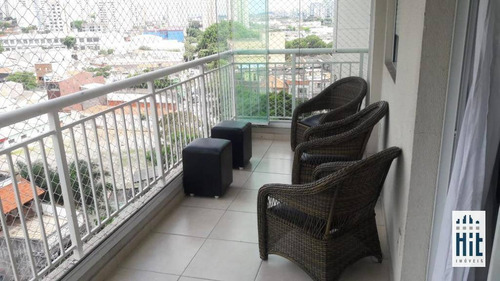 Apartamento À Venda, 82 M² Por R$ 830.000,00 - Mooca - São Paulo/sp - Ap3673