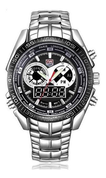 Relógio Esportivo Tvg Seals Elite Masculino Led Frete Grátis