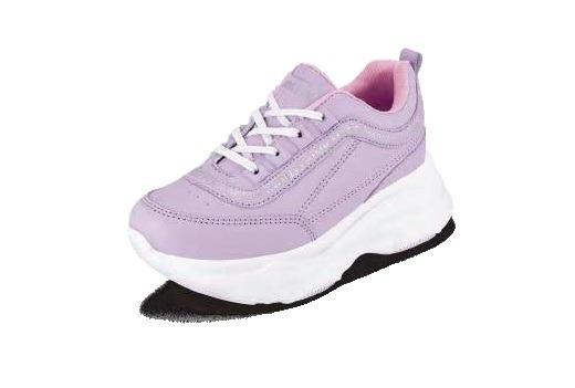 Tenis Para Niña Miss Pink Color Blanco/lila Modelo 81836