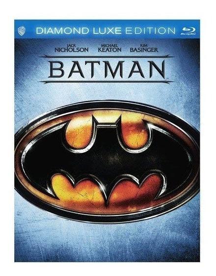 Batman 1989 Michael Keaton Edicion Diamante Pelicula Blu-ray