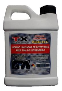 Limpiador Inyectores Ultrasonido Concentrado /rinde 10 Lts