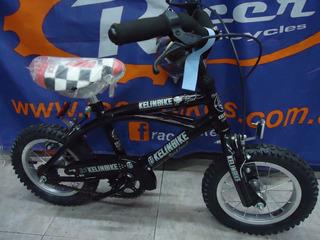 Bicicleta Nene Rodado 12 Kelinbike Playera - Racer