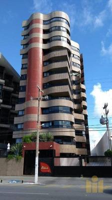 Apartamento Com 4 Dormitórios À Venda, 194 M² Por R$ 1.400.000 - Pajuçara - Maceió/al - Ap0418