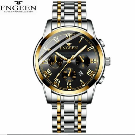 D1) Relógio Markenlos Fngeen Sport Quartz Oferta-promoção