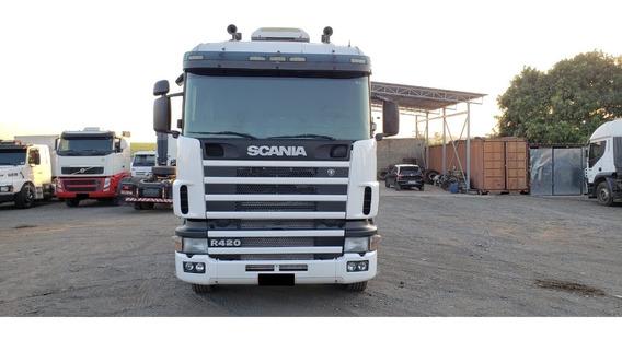Scania R124 2007/2008 6x2 Branco (5836)