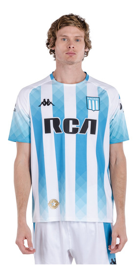 Camiseta Racing Club 2019 Home Blanco Hombre Kappa